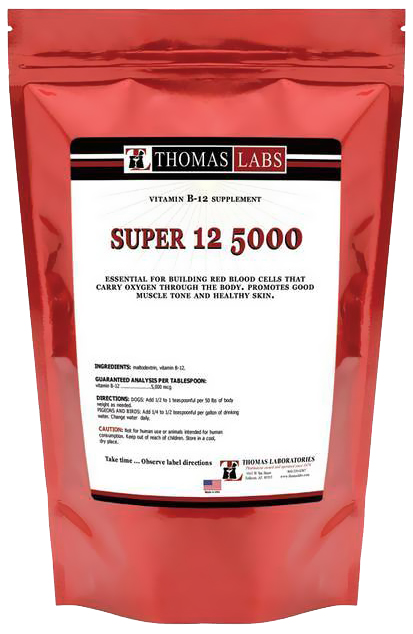 Thomas Labs Super 12 5000 Powder (16 oz)