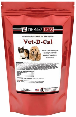 Thomas Labs Vet-D-Cal Powder (16 oz)