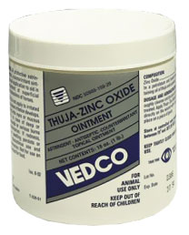 Thuja-Zinc Oxide Ointment Topical Wound Dressing (1 lb)
