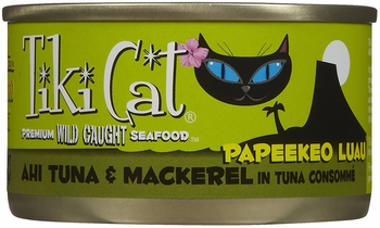 Tiki Cat Papeekeo Luau Ahi Tuna & Mackerel (2.8 oz)