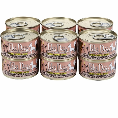 Tiki Dog Lomi Lomi Luau Wild Salmon & Chicken (2.8 oz) - 12 Pack