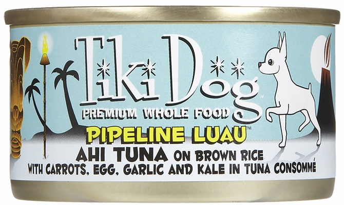 Tiki Dog Pipeline Luau Ahi Tuna (2.8 oz)
