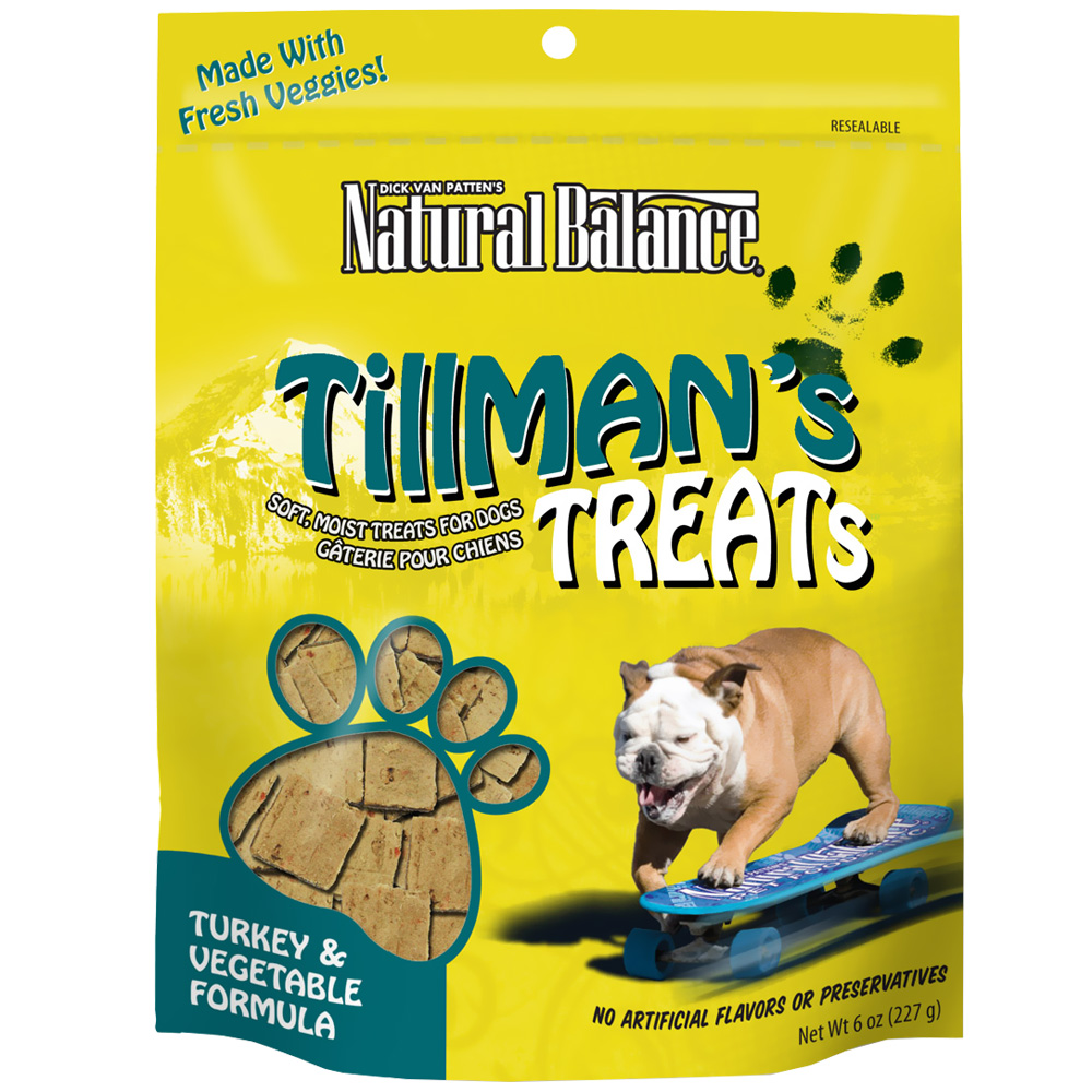 Tillman's Turkey & Vegetable Treats (6 oz)