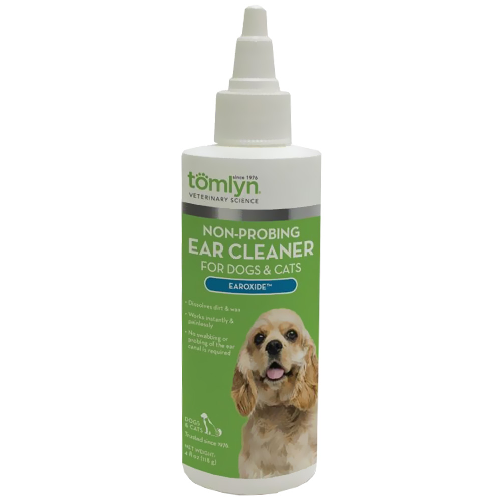 Tomlyn® Earoxide™ Non-Probing Ear Cleaner for Dogs & Cats (4 fl oz)