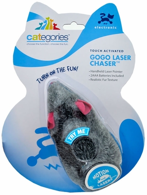 Touch Activated GOGO Laser Chaser