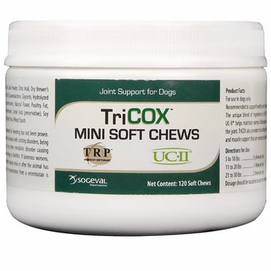 TriCOX Soft Chews Mini (120 chews)
