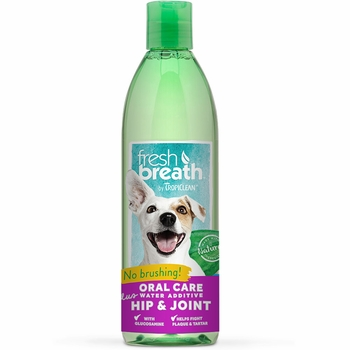 Tropiclean Fresh Breath Plus Hip & Joint Water Additive (16 fl oz)