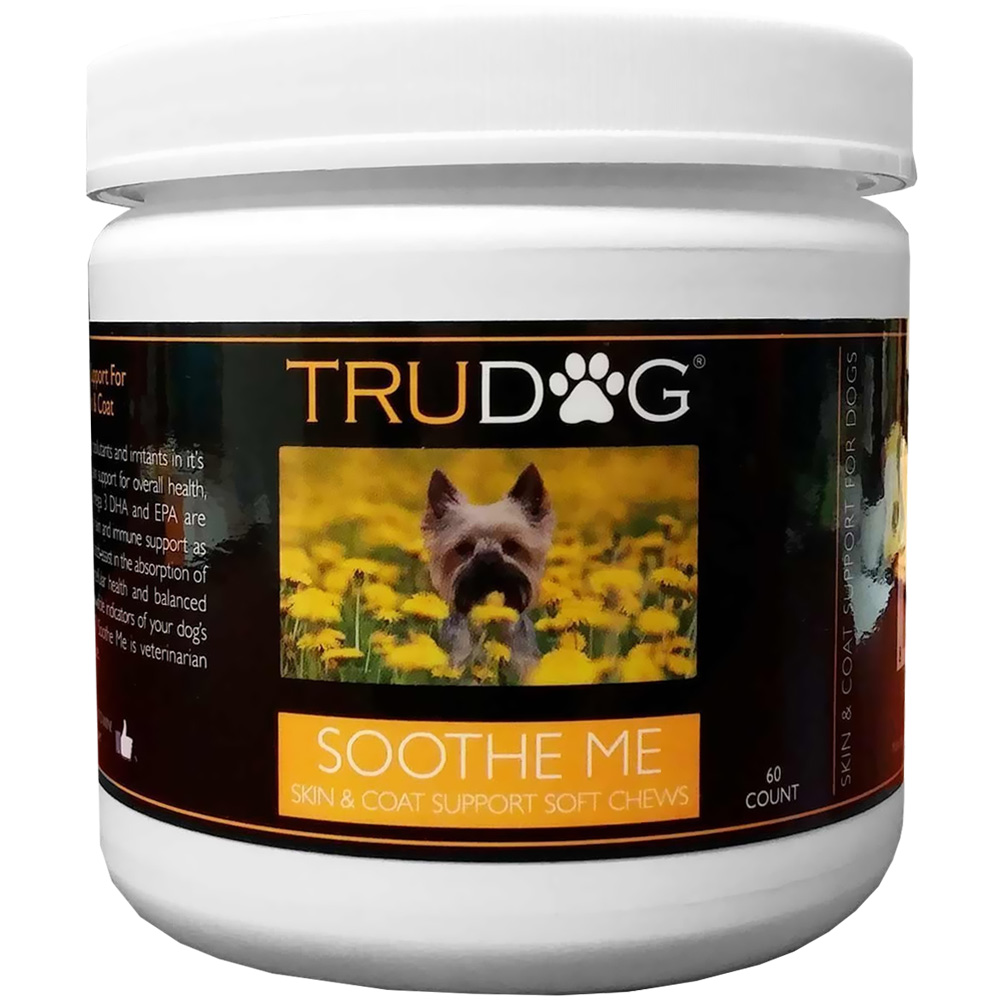 TruDog Soothe Me - Skin & Coat Support Soft Chews (60 count)
