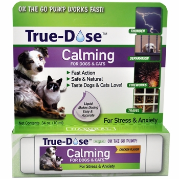 True-Dose Calming for Dogs & Cats (10 ml)