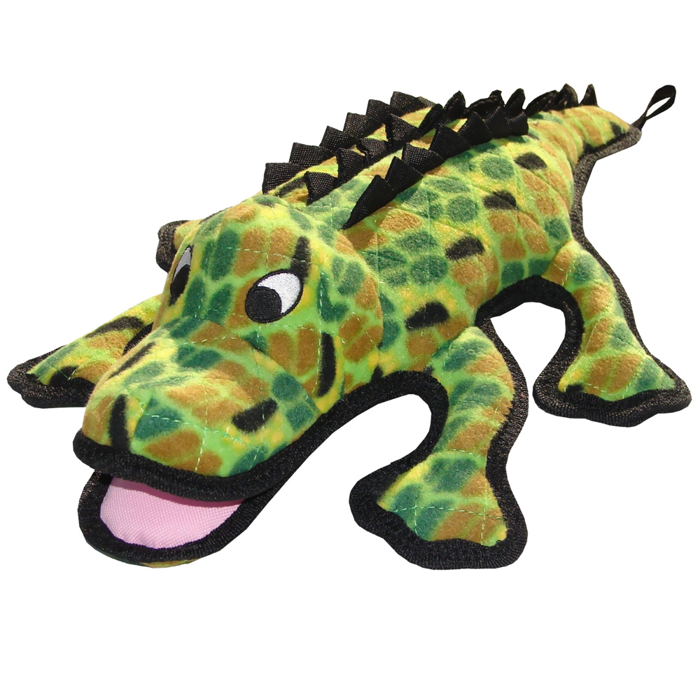 Tuffy's Sea Creatures Alligator Dog Toy