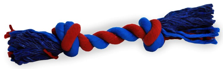 Tug Rug Rope Red/Blue (9 inch)