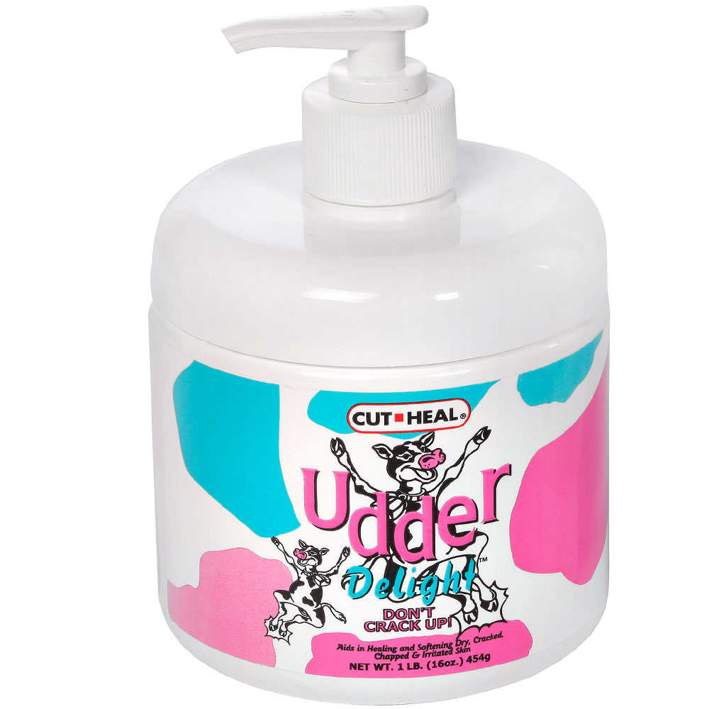 Udder Delight by Cut Heal - 16 oz. Pump Bottle