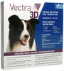 Vectra 3D BLUE for Dogs & Puppies 21-55 lbs - 3 Doses