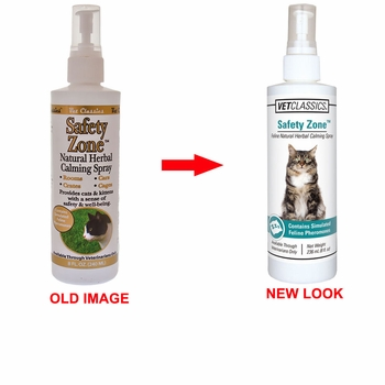 Vet Classics Safety Zone Natural Herbal Calming Cat Spray�(8 oz)