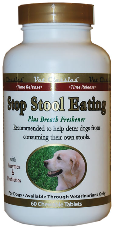 Vet Classics Stop Stool Eating Tablets (60 count)