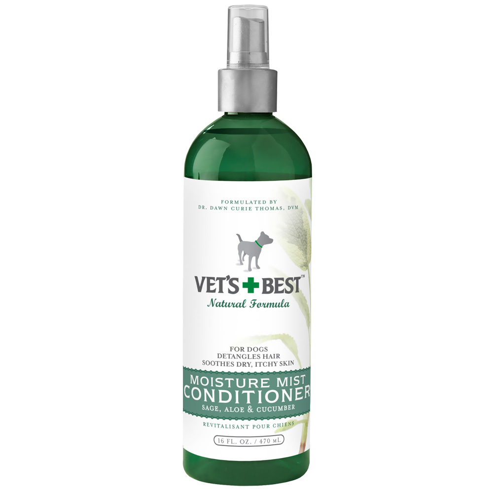 Vet's Best Moisture Mist Conditioner For Dogs (16 fl oz)