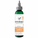 Vet's Best Natural Ear Relief Dry for Dogs (4 oz)
