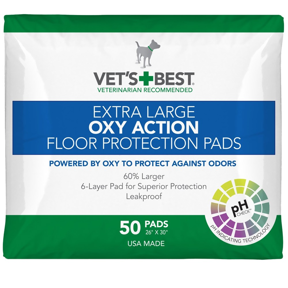 Vet's Best OXY ACTION Floor Protection Pads