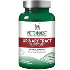 Vet's Best Urinary Tract Support For Cats (60 chewable tablets)