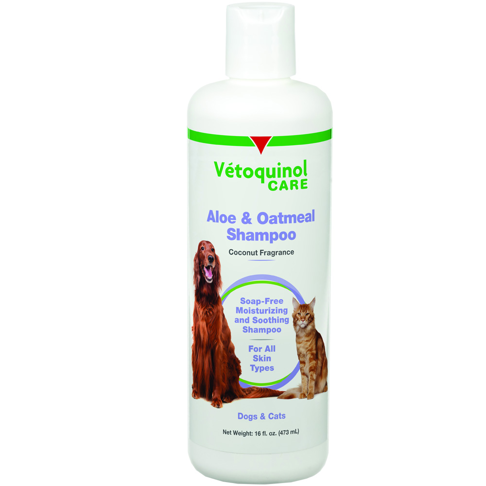 Vet Solutions Aloe & Oatmeal Shampoo (16 oz)