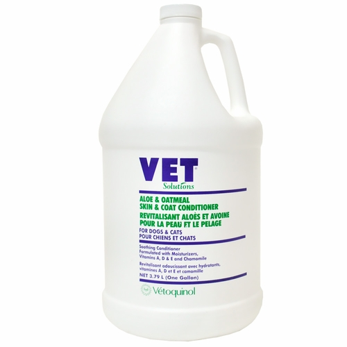 Vet Solutions Aloe & Oatmeal Skin & Coat Conditioner (Gallon)
