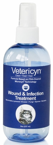 Vetericyn Feline Wound & Infection Liquid (8oz Pump)
