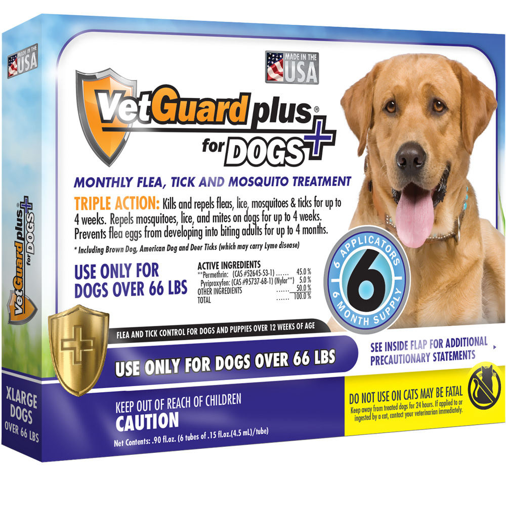 VetGuard Plus for Extra Large Dogs - 6 Month Supply (over 66 lbs)