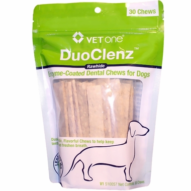 VetOne DuoClenz Enzyme-Coated Dental Chews Small (30 count)