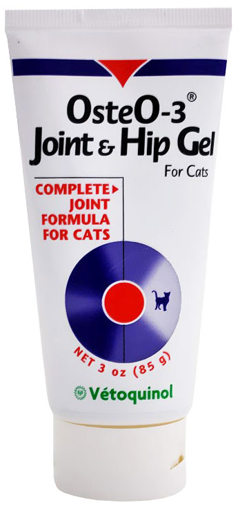 Vetoquinol Osteo-3 Joint & Hip Gel for Cats (3 oz)