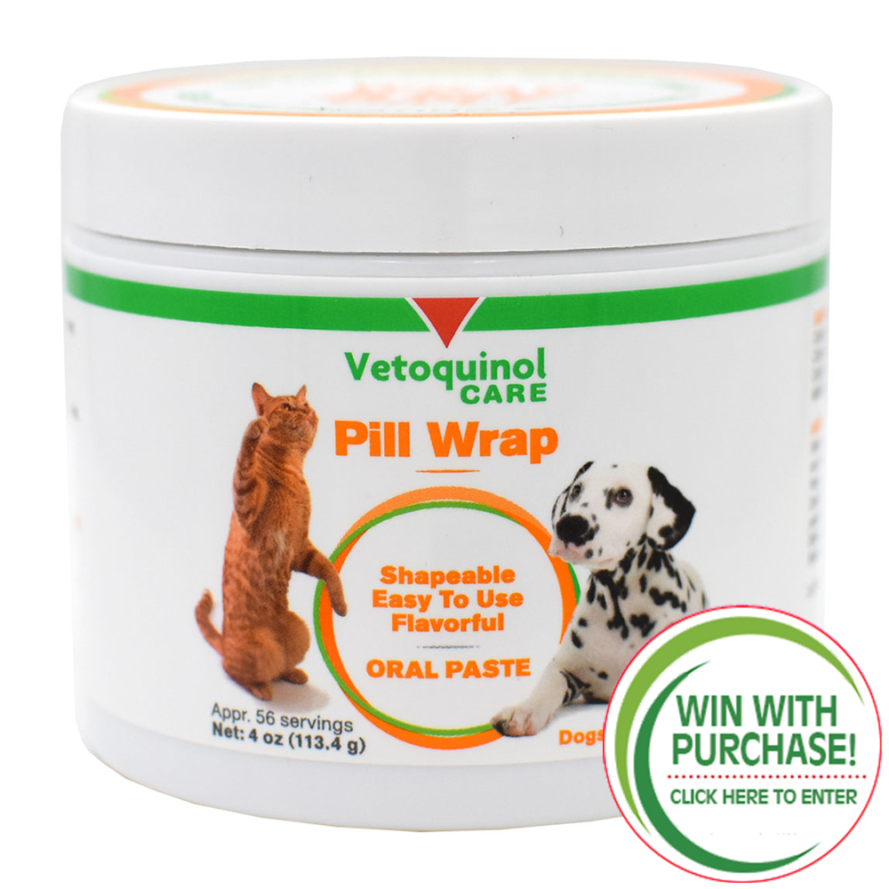 Vetoquinol Pill Wrap Oral Paste (4 oz)