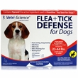 Vetri-Science Flea + Tick Defense for Dogs and Puppies 23 to 44 lbs - 3 Doses