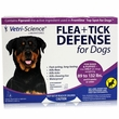 VetriScience Flea + Tick Defense for Dogs and Puppies 89 to 132 lbs - 3 Doses