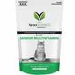 VetriScience NuCat Senior Multivitamin Feline Supplement (30 Bite-Sized Chews)