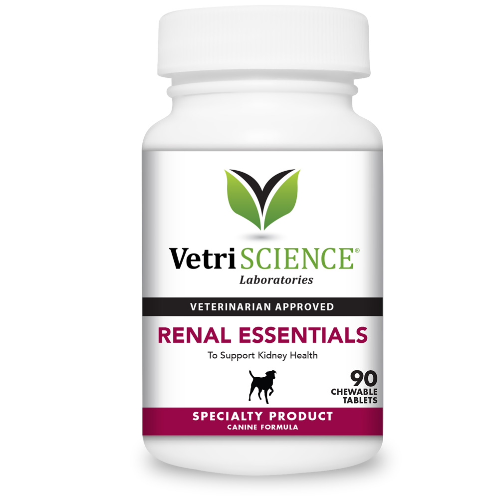 VetriScience Renal Essentials For Dogs (90 Tabs)