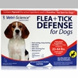 VetriScience Flea + Tick Defense for Dogs and Puppies 23 to 44 lbs - 3 Doses