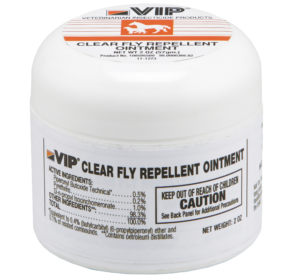 VIP Fly Repellent Ointment for Dogs and Cats (2 oz)