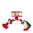Vo-Toys Holiday Cotton Rope Bone - 12.75""