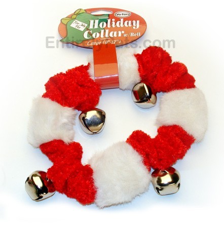 Vo-Toys® Holiday Bell Collars