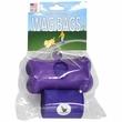 Wag Bags Dispenser Bone - PURPLE (30 Bags)