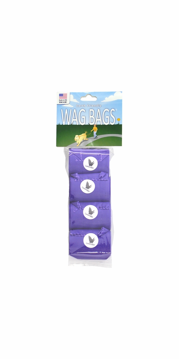 Wag Bags Refill LAVENDER - SCENTED (60 Bags)