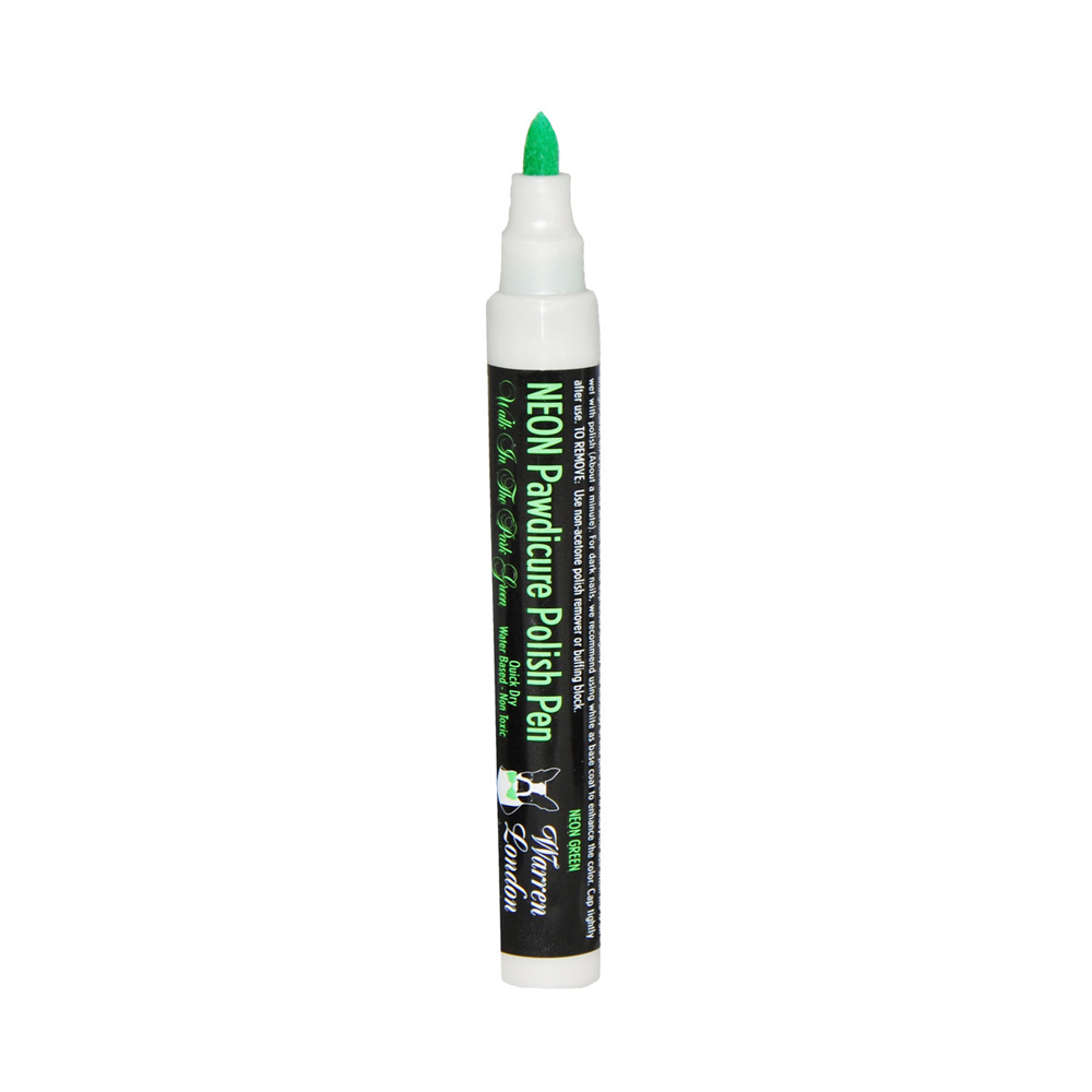 Warren London Pawdicure Polish Pen - Neon Green