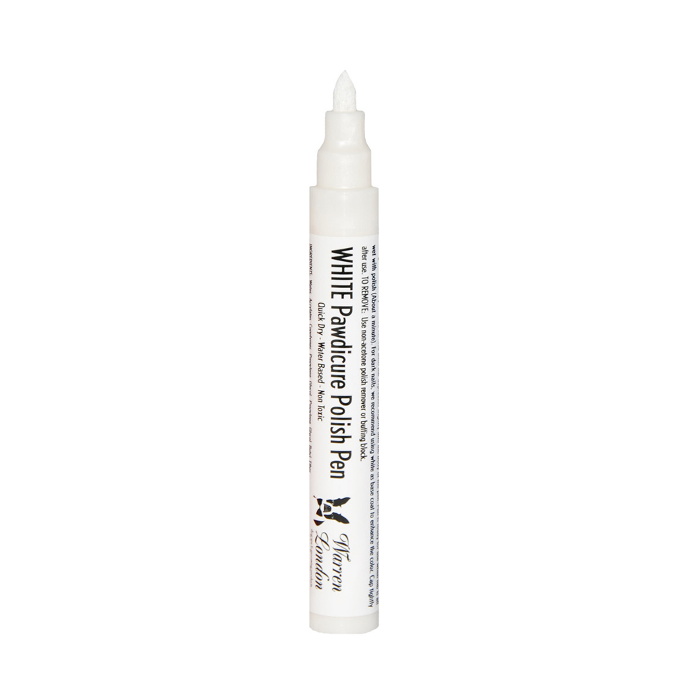 Warren London Pawdicure Polish Pen - White