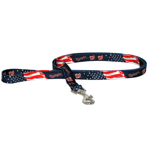 Washington Nationals Dog Collars & Leashes