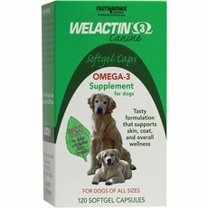 Welactin For Dogs Softgel (120 Caps)