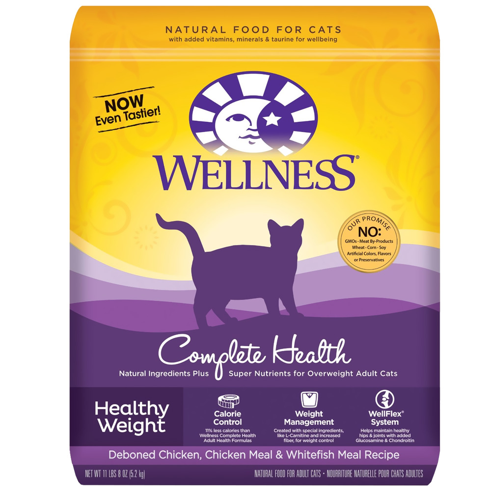 Wellness Healthy Weight Adult Cat Food 11 5 Lbs