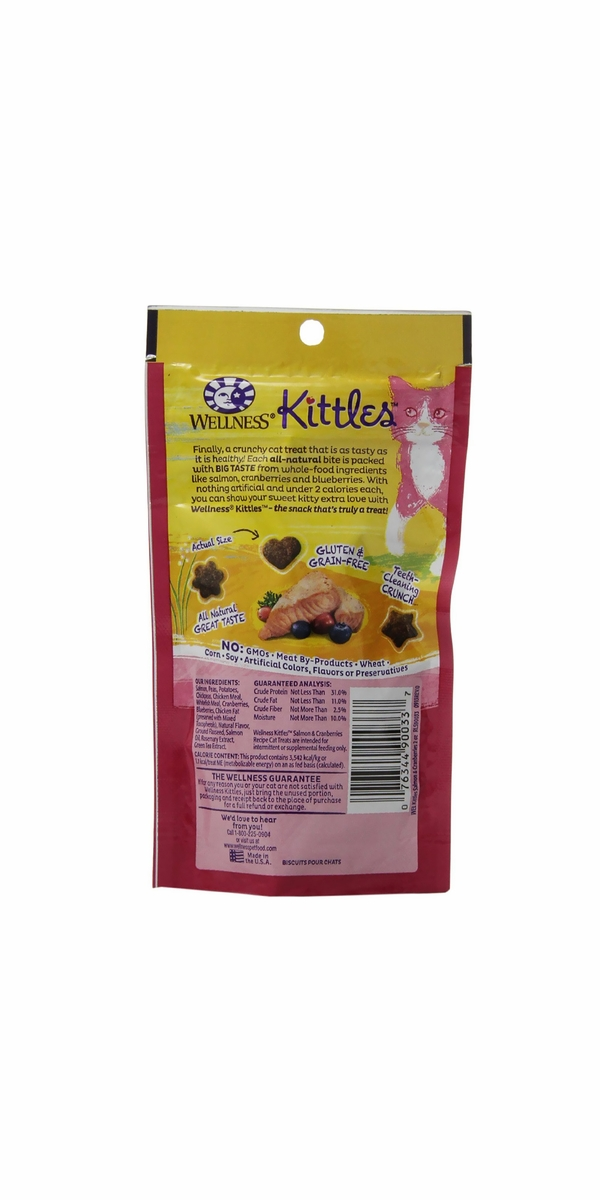 Wellness Kittles Salmon & Cranberries Cat treats (2 oz)