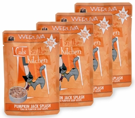 Weruva Cats in the Kitchen Pouch-Pumpkin Jack Splash 4-Pack (12 oz)