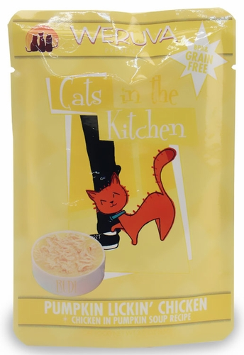 Weruva Cats in the Kitchen Pouch-Pumpkin Lickin Chicken (3 oz)