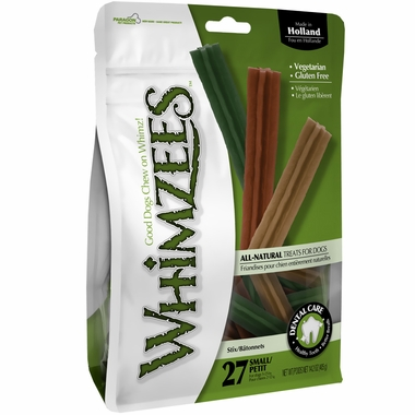 Whimzees Stix Dental Dog Treats - Small (27 count)