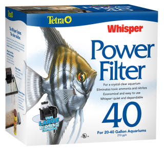 Whisper Power Filter 40 (20-40 Gal)